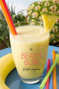 Beach Bum Pineapple Smoothie