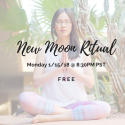 Join us for a free Women's New Moon Ritual Tonight!